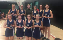 Winners Army Reserves Netball tournament